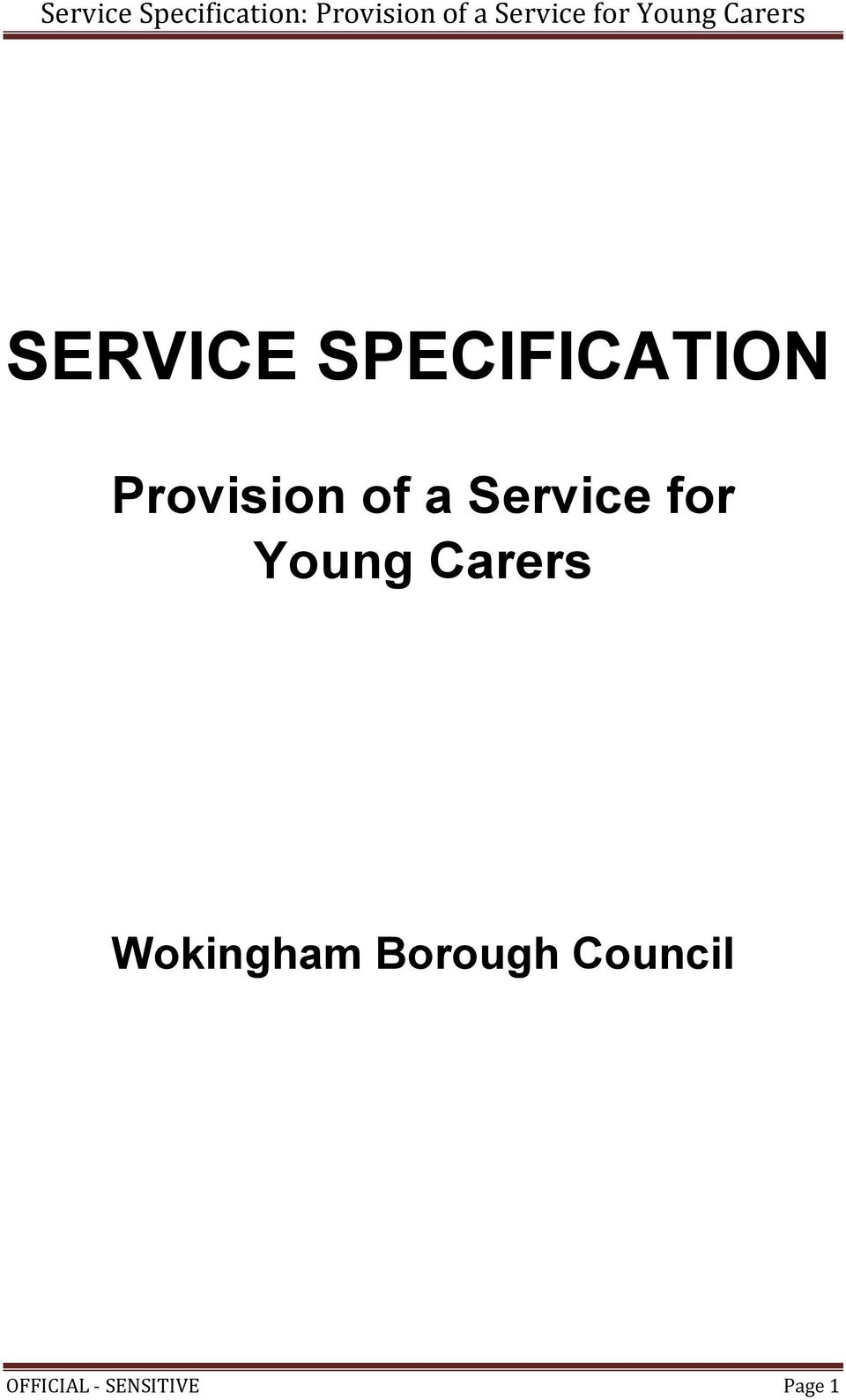 Young Carers Wokingham