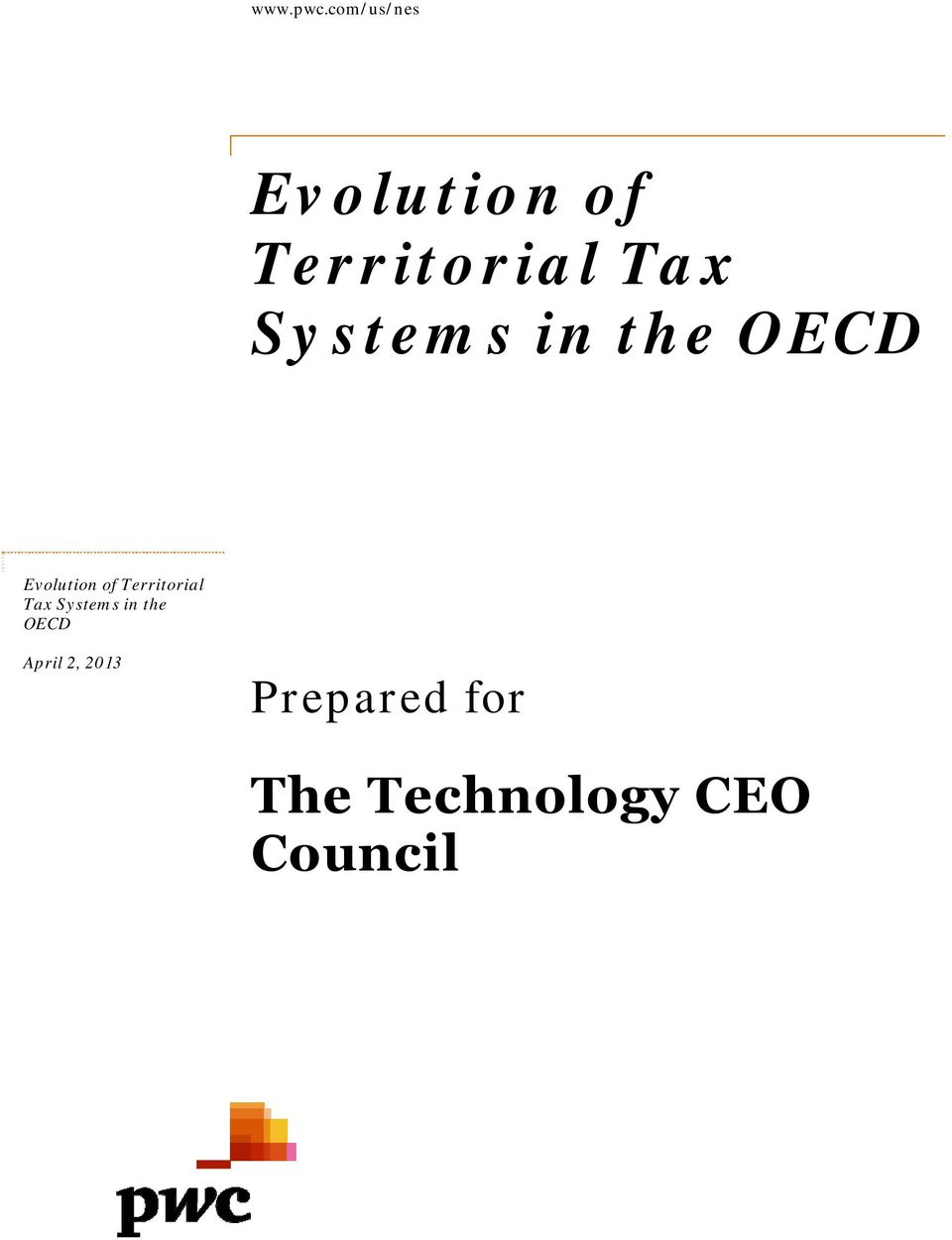 Systems in the OECD Evolution of