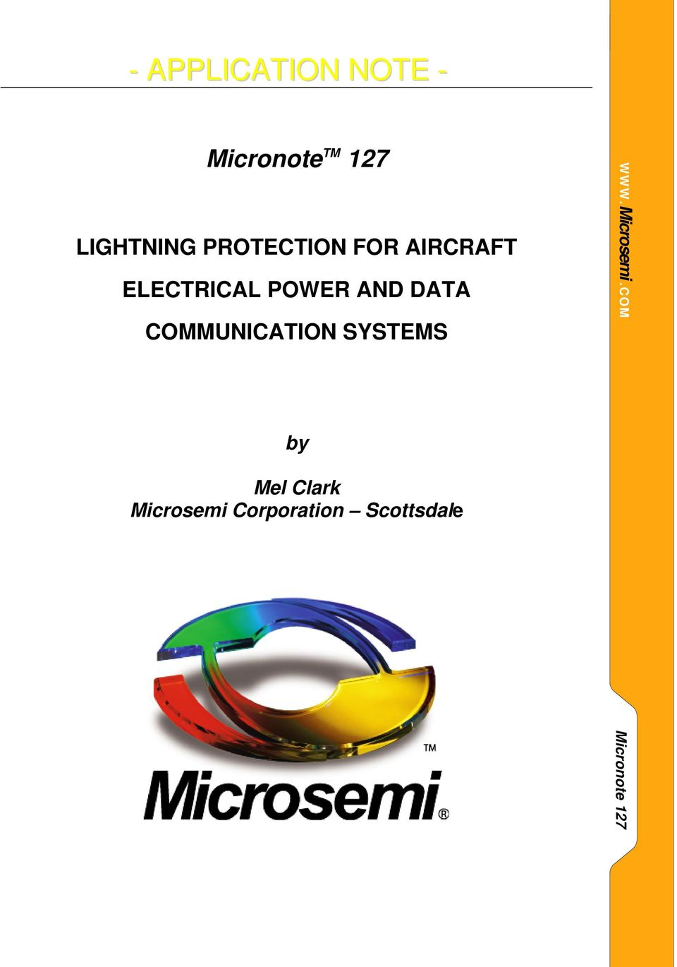 POWER AND DATA COMMUNICATION SYSTEMS by Mel