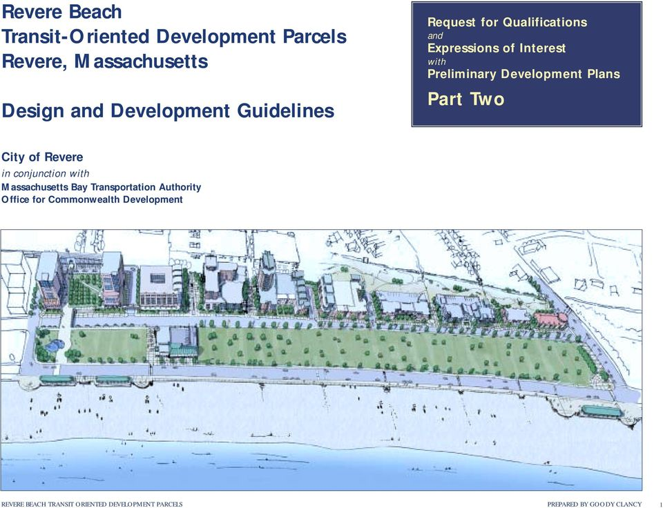 Plans Part Two City of Revere in conjunction with Massachusetts Bay Transportation Authority