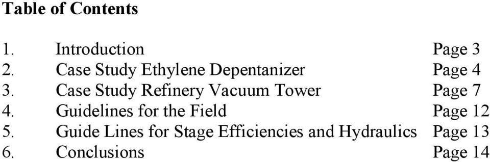 Case Study Refinery Vacuum Tower Page 7 4.