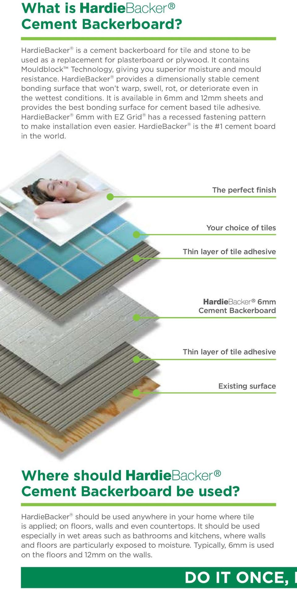 PRODUCT INSTALLATION GUIDE PREVENTS PDF - Thin backer board for floor tile
