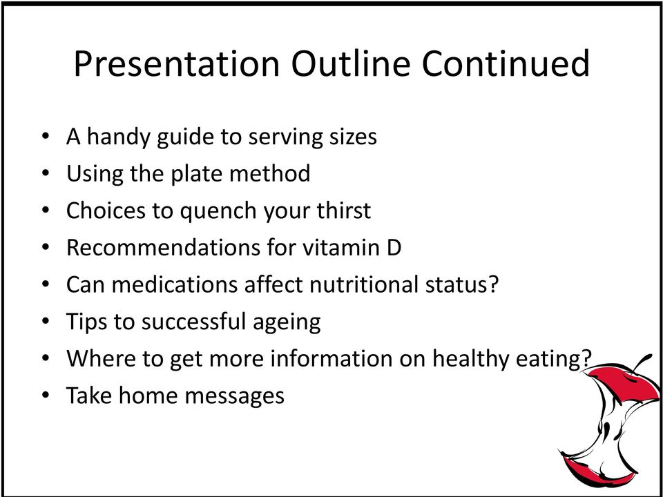 vitamin D Can medications affect nutritional status?