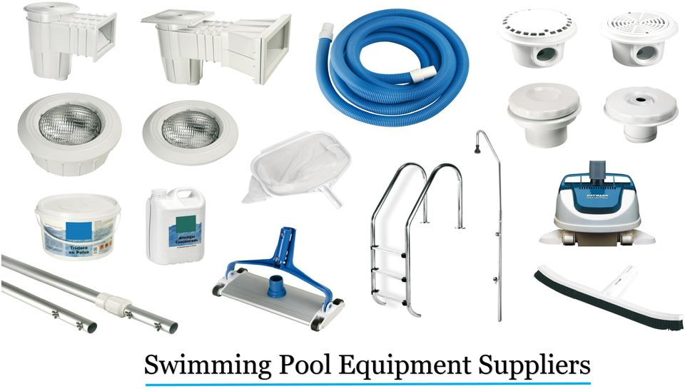 Swimming Pool Equipment Suppliers Pdf
