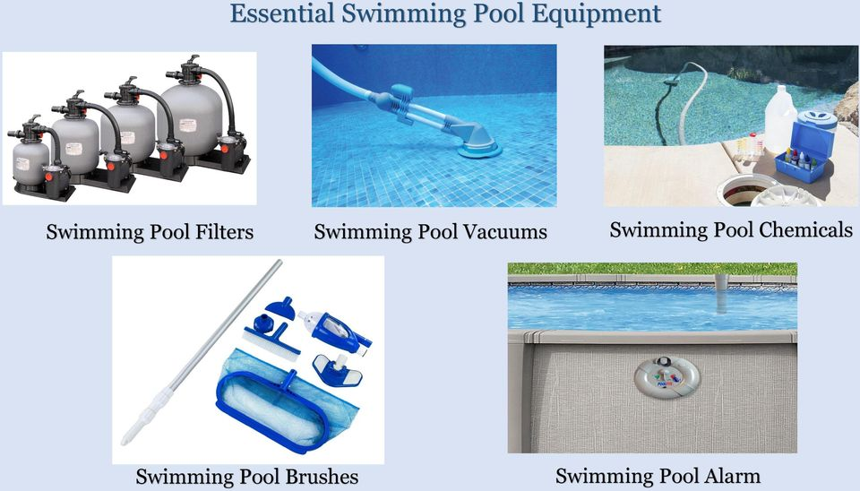 Swimming pool equipment suppliers pdf for Swimming pool equipment suppliers