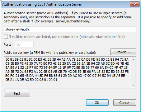 authenticate the server. The authentication process is repeated for each network your computer connects to. Click Setup.