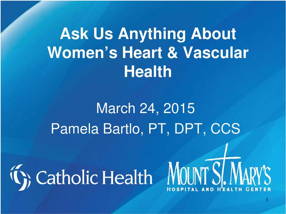 Health March 24, 2015