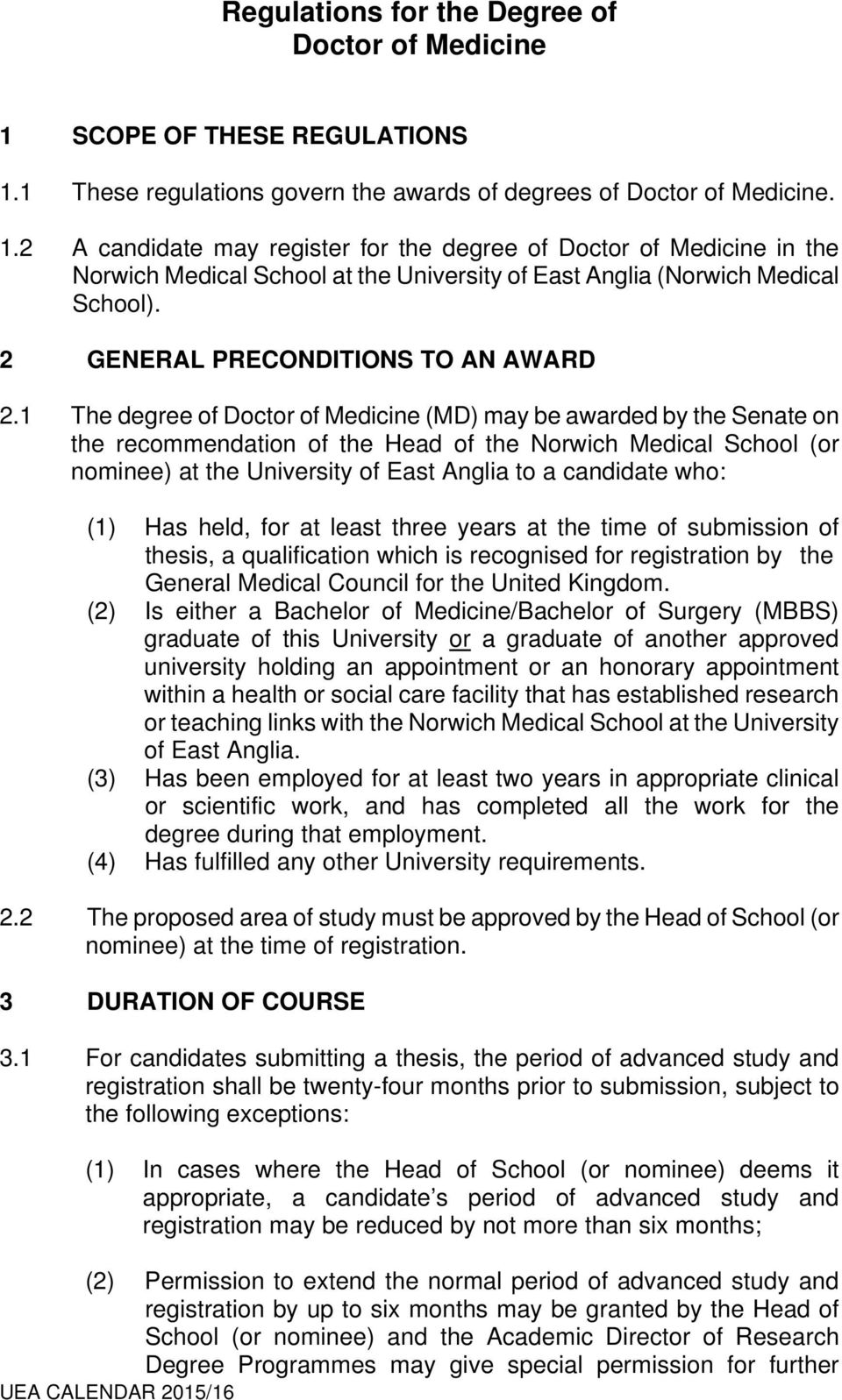 2 GENERAL PRECONDITIONS TO AN AWARD 2.