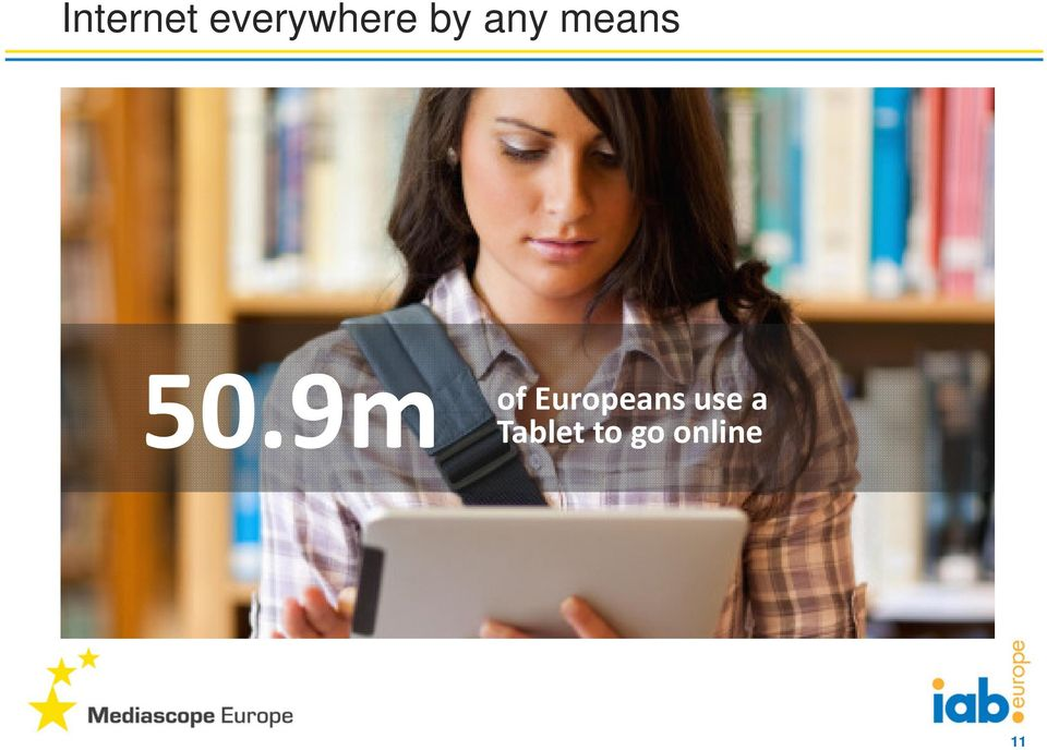 9m of Europeans use