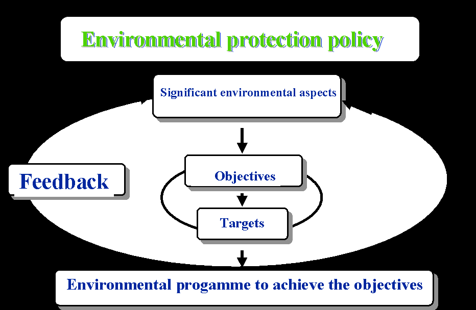 Objectives and Targets Establish environmental objectives and targets for all relevant functions and levels within your organization They should