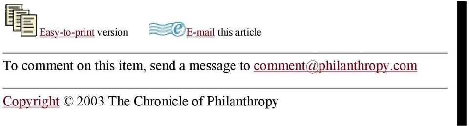 a message to comment@philanthropy.