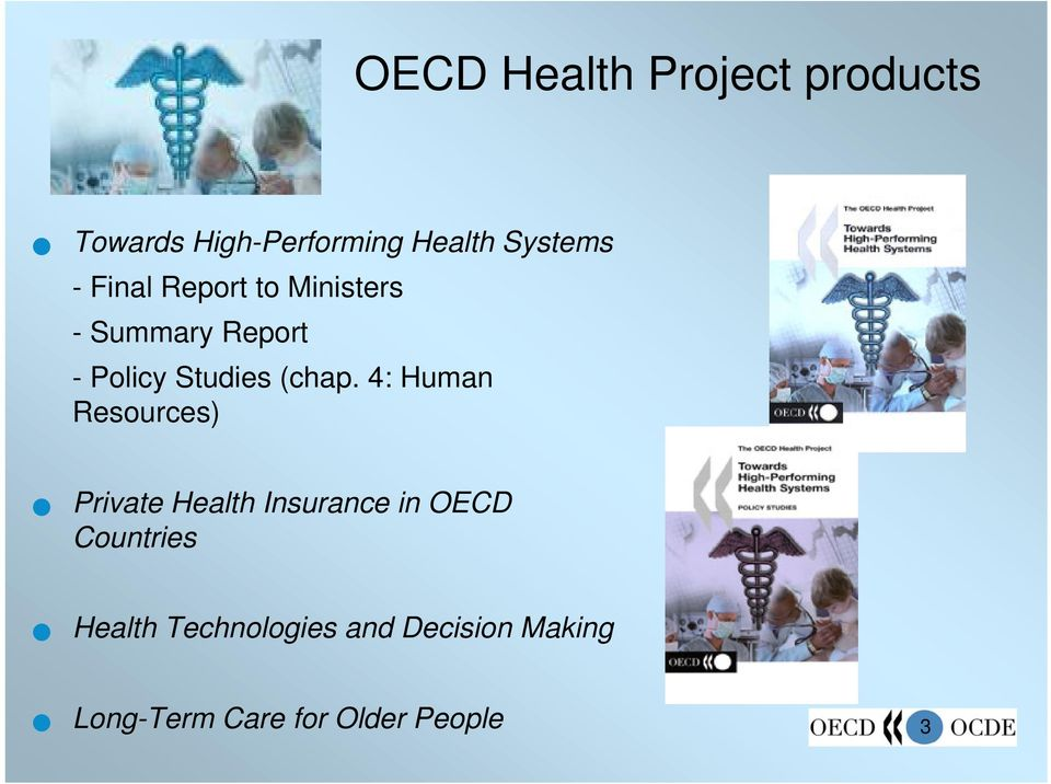 4: Human Resources) Private Health Insurance in OECD Countries