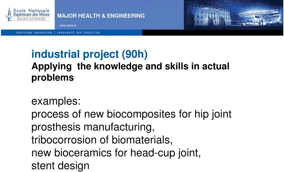 biocomposites for hip joint prosthesis manufacturing,