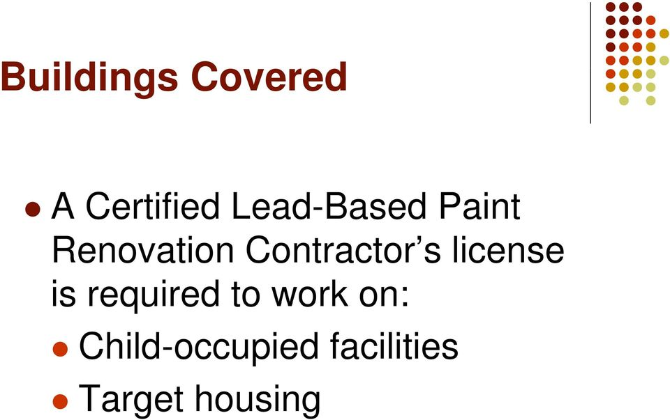 Contractor s license is required to