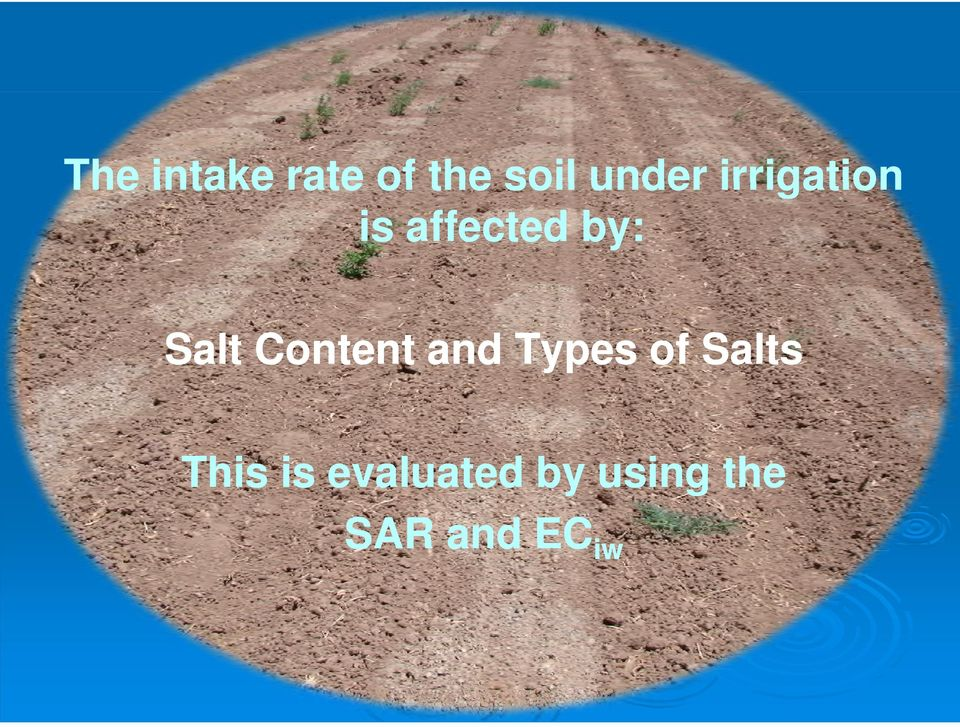 Content and Types of Salts This is