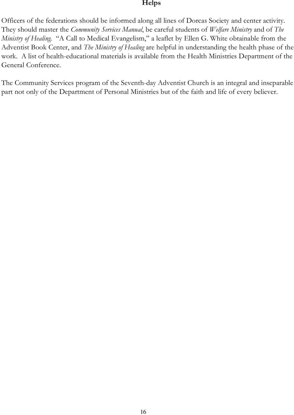 seventh day adventist ministers manual pdf