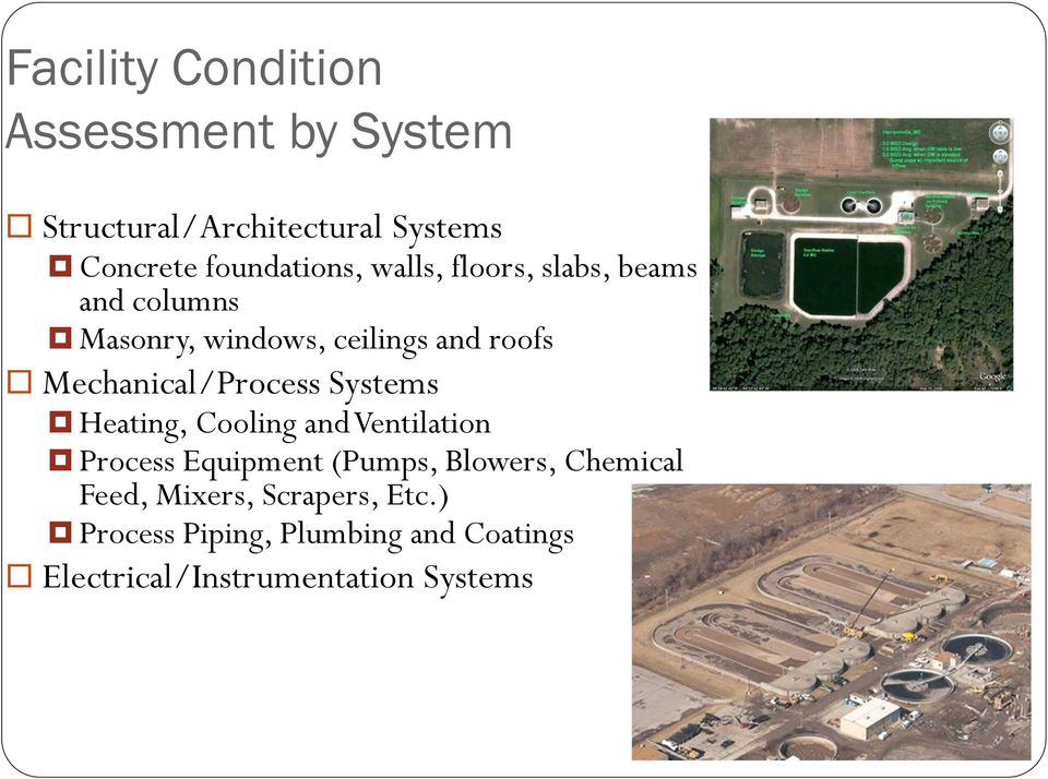 Mechanical/Process Systems Heating, Cooling and Ventilation Process Equipment (Pumps, Blowers,