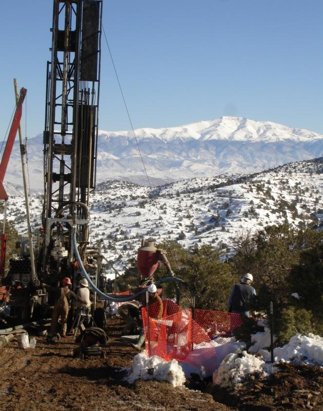 Pine Grove - Exploration Potential Mineralized zone exceeds one mile Numerous geochemical targets remain untested Project