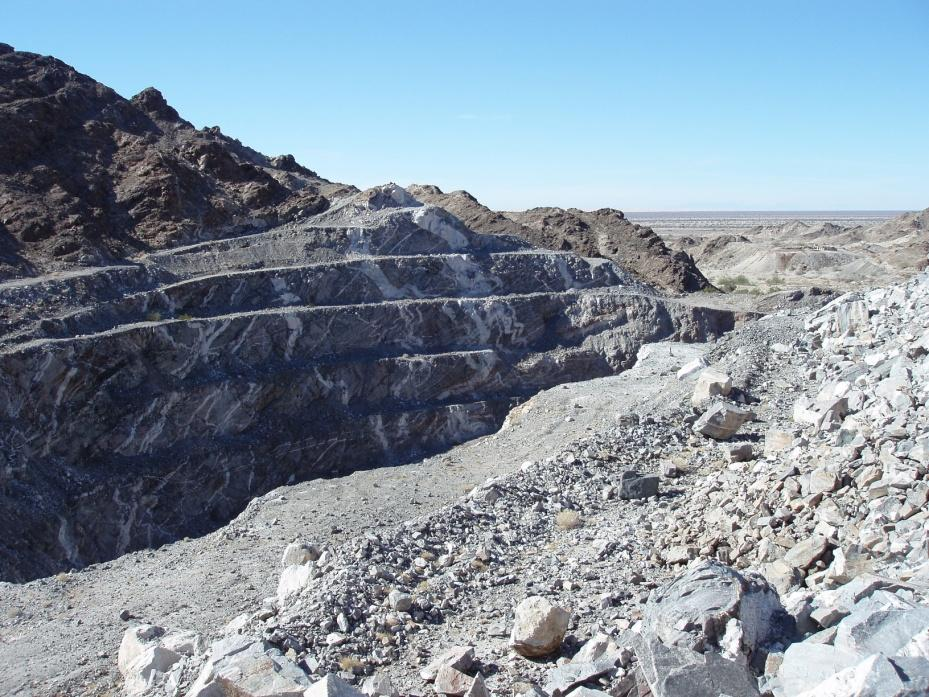 Oro Cruz Gold Property - History Past Production Underground & Open-pit District hosted first California gold mine in mid