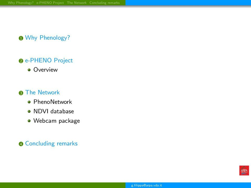 remarks 1  2 e-pheno Project Overview 3 The