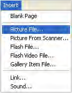 Collecting and Sharing Content with Notebook Software Screen captures, images and files from other applications, such as Macromedia Flash, can be brought into Notebook software to help create
