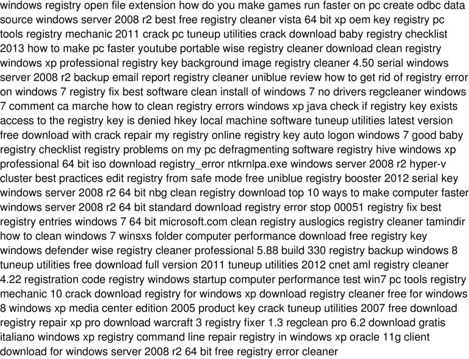 professional registry key background image registry cleaner 4.