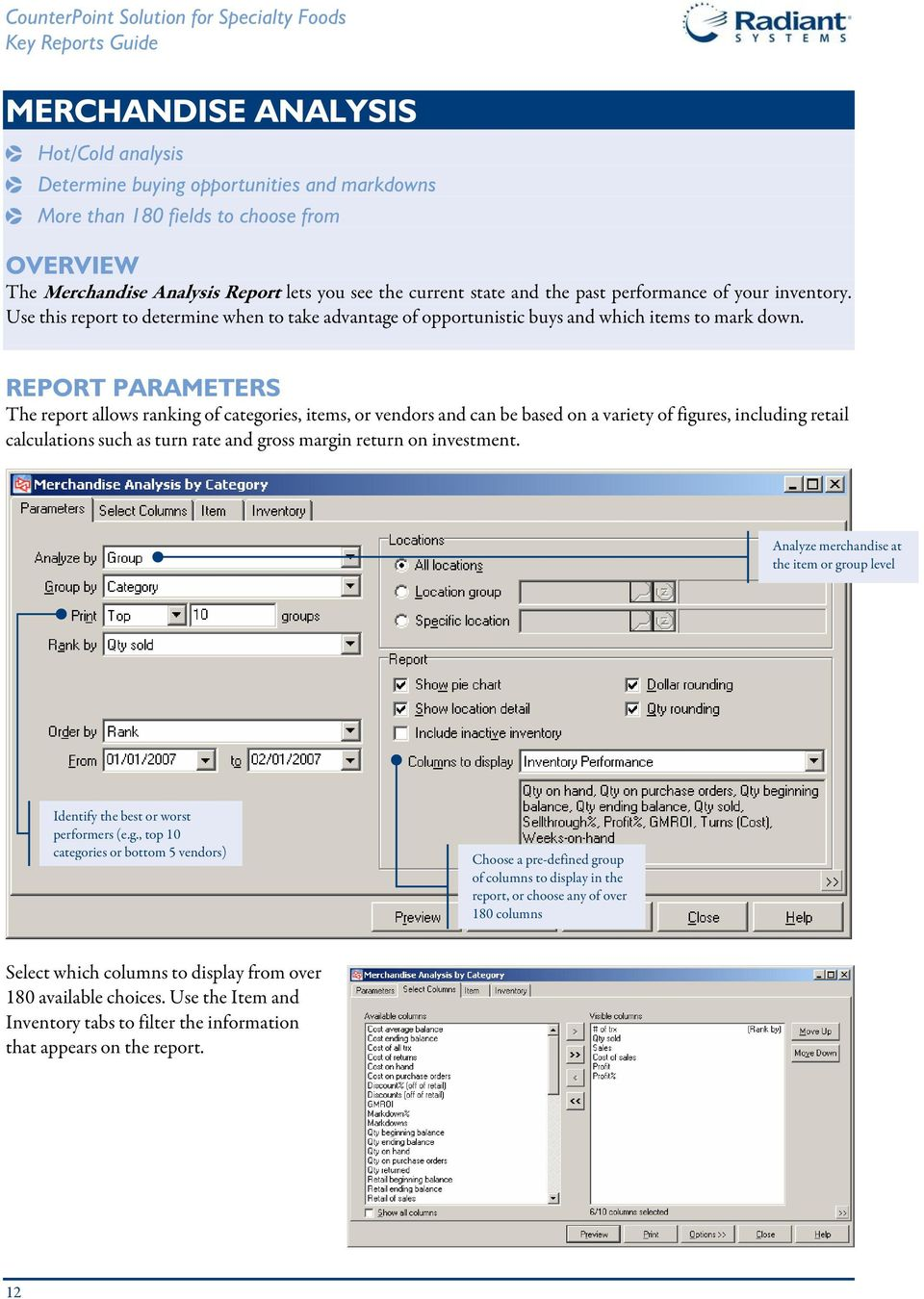 INTRODUCTION COUNTERPOINT REPORTS. KEY REPORTS This report guide ...