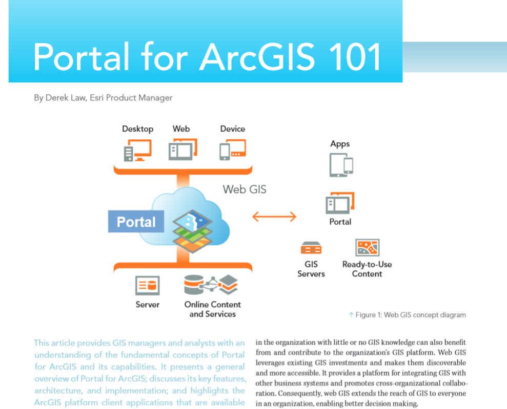 Resources Extending Access to GIS Maps and Apps with Portal for ArcGIS 60