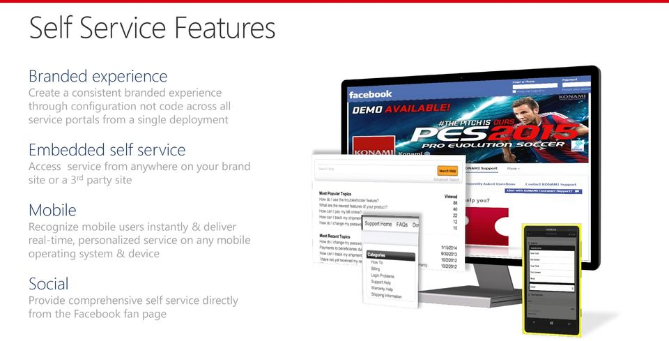 brand site or a 3 rd party site Mobile Recognize mobile users instantly & deliver real-time, personalized service