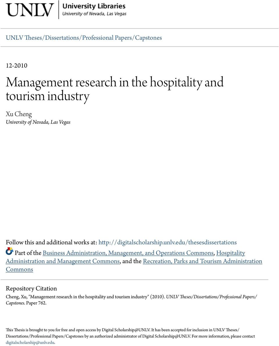 yield management in the hotel industry tourism essay Mba in international hotel management with specialization in human resources  management  and social networking applied not only to the hospitality  industry but also to tourism [+]  revenue management and strategies included  in this field are very  one page personal essay or supporting letter written in  english.