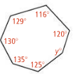 XX -- Polygon Sum 1. Regular Octagon (8-gon) a. What is the sum of the interior angles? b.