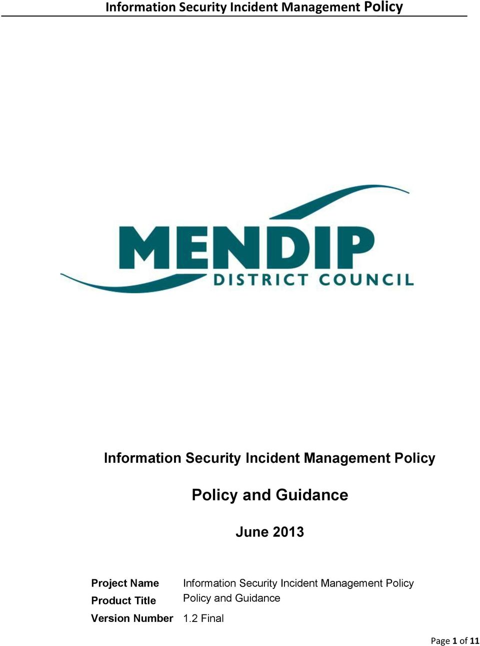 information security policy pdf india