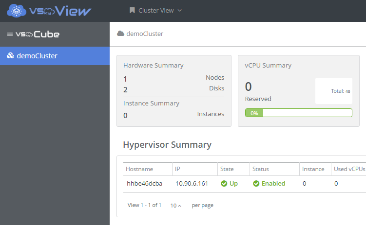 Step 3: Preview and Start Deploying the Cluster Click Previous to go back to edit or Submit to start deploying the cluster.