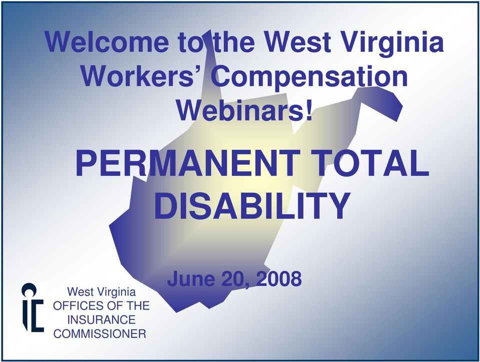 PERMANENT TOTAL DISABILITY West