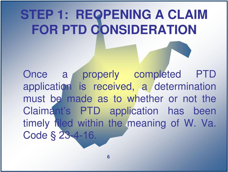 determination must be made as to whether or not the Claimant s