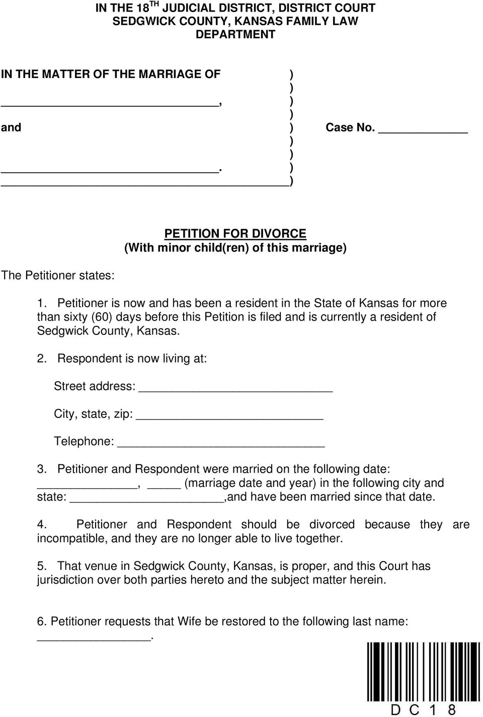 pictures A Comprehensive Guide to Kansas State Divorce Laws