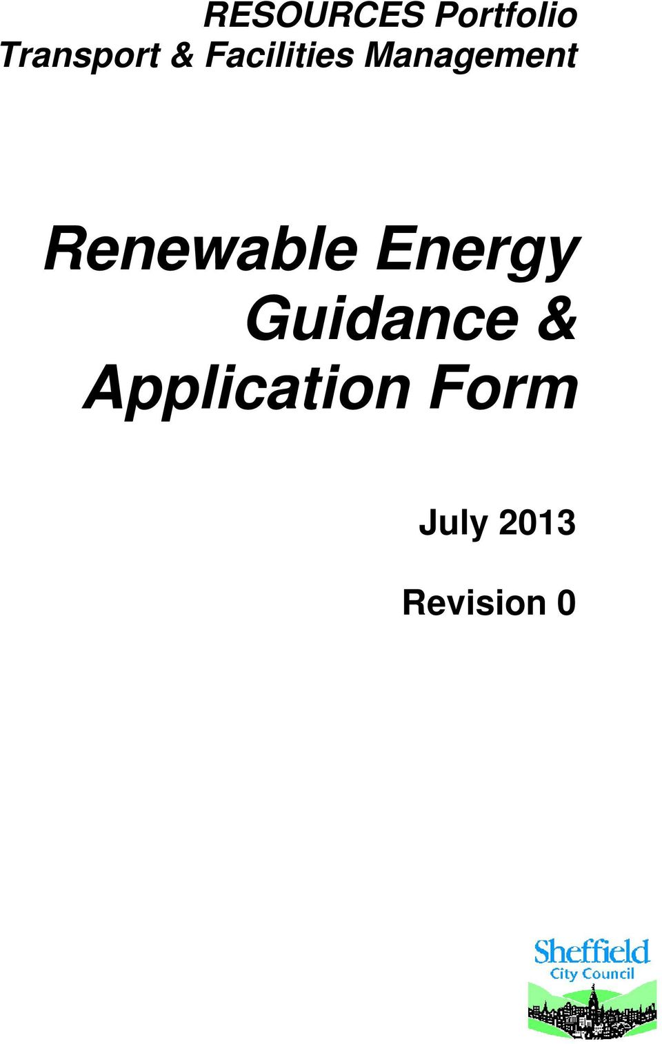 Renewable Energy &