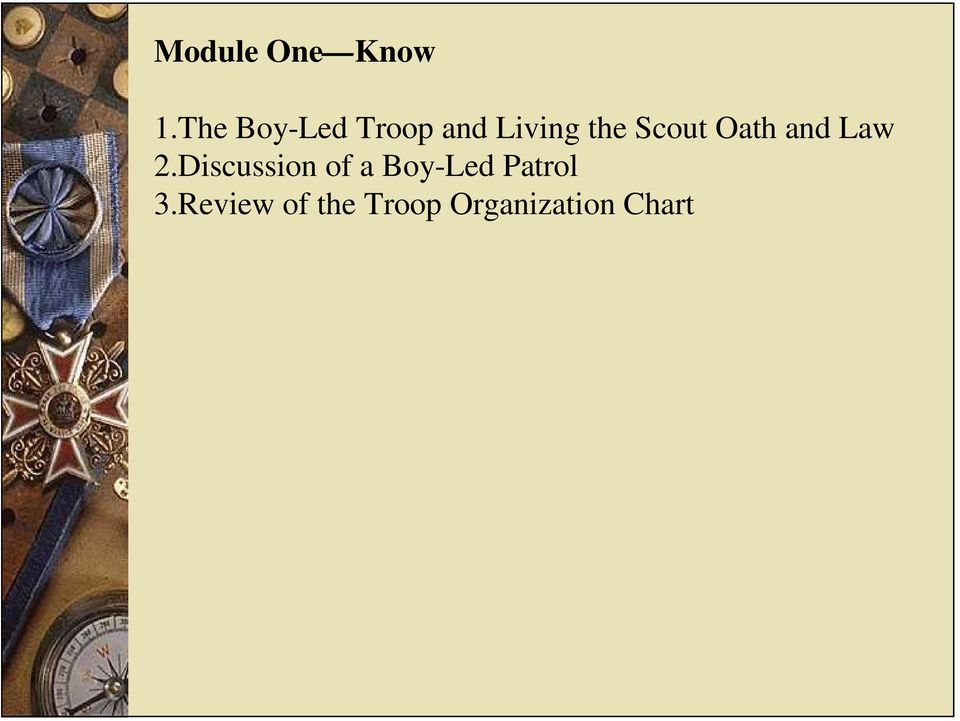 Scout Oath and Law 2.