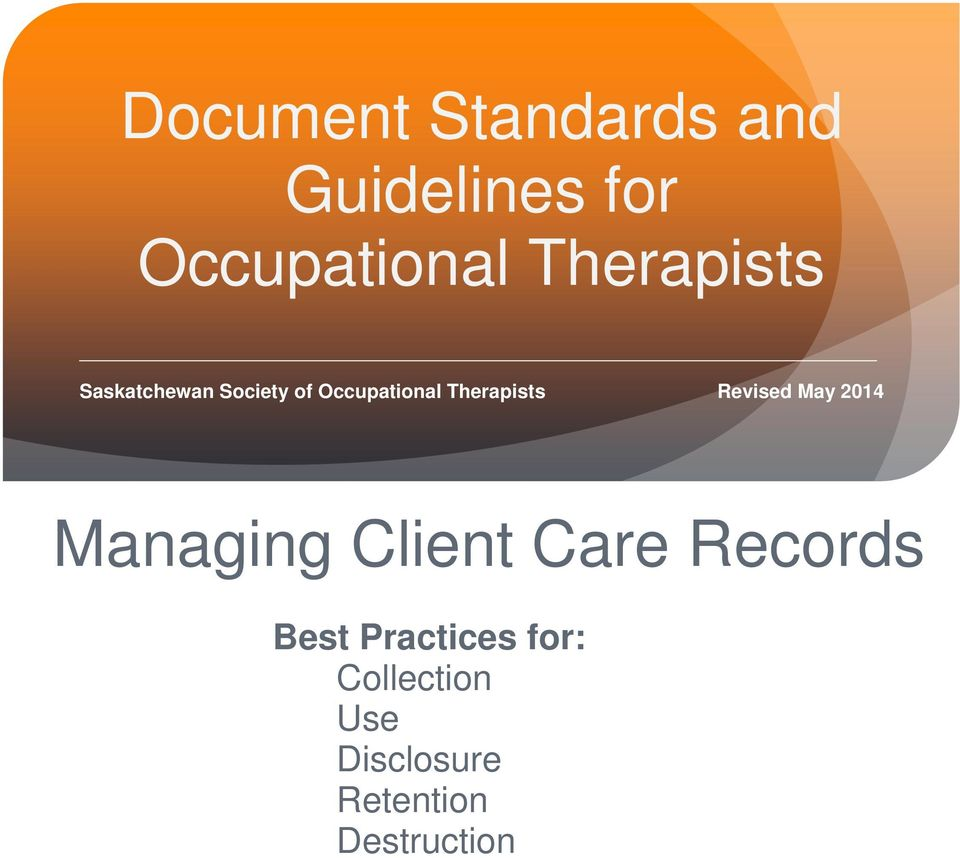 Managing Client Care Records Best Practices