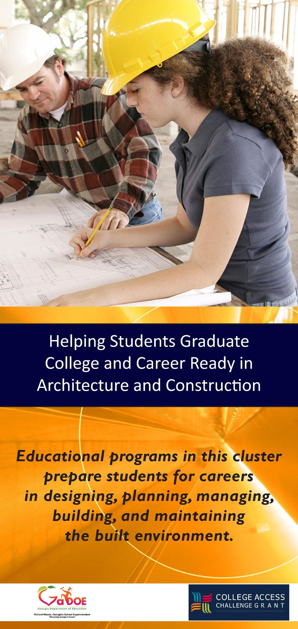 this cluster prepare students for careers in designing,