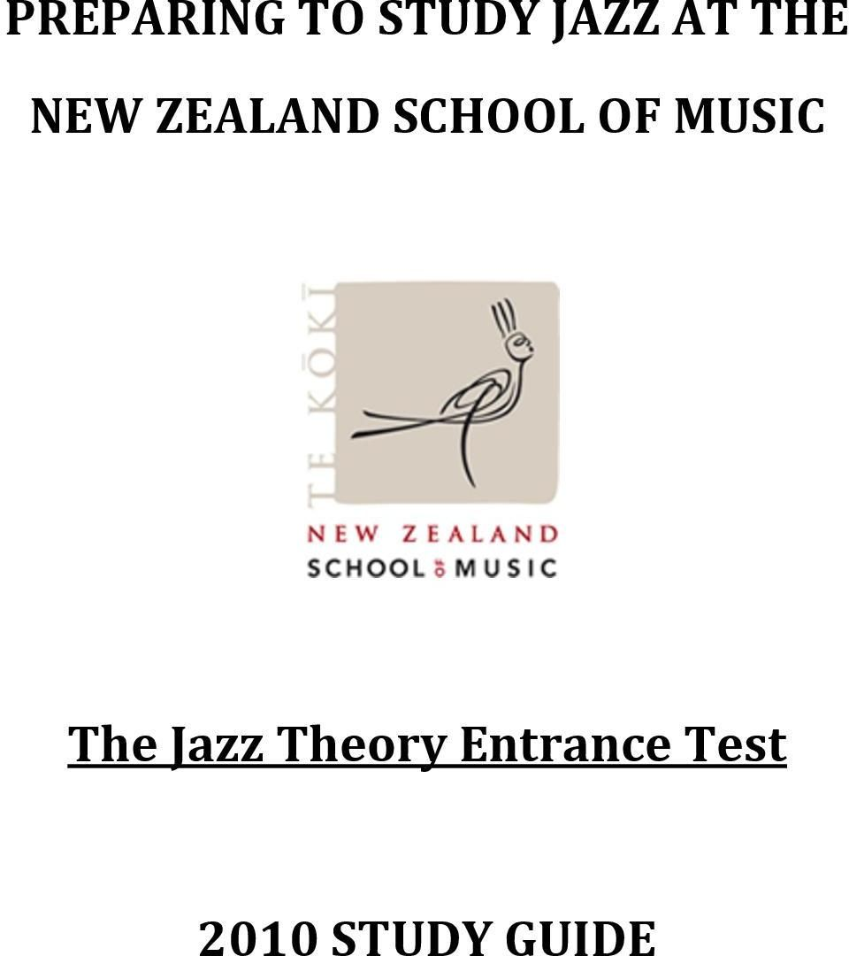 MUSIC The Jazz Theory