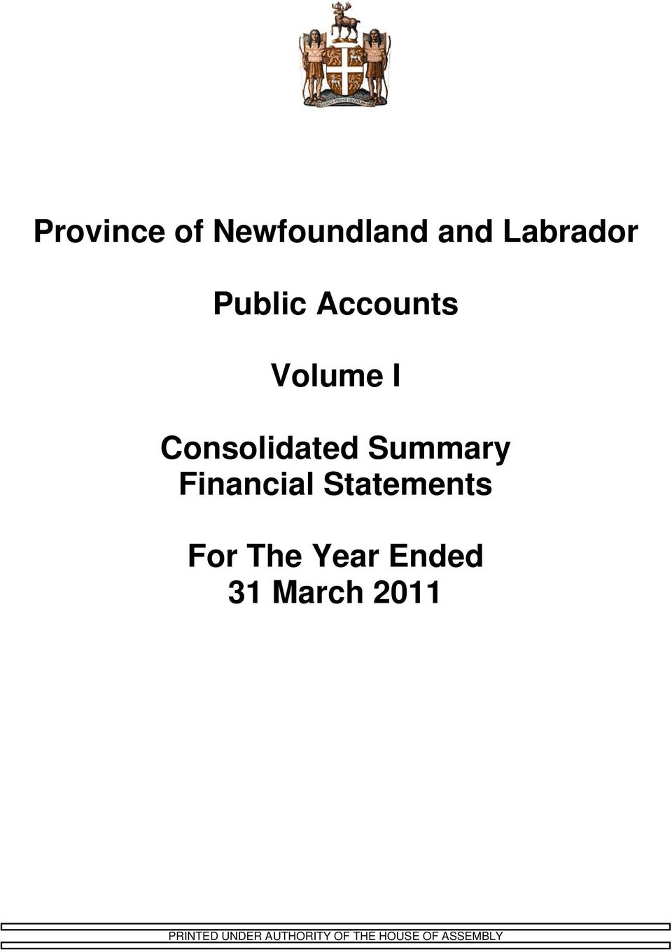 Financial Statements For The Year Ended 31