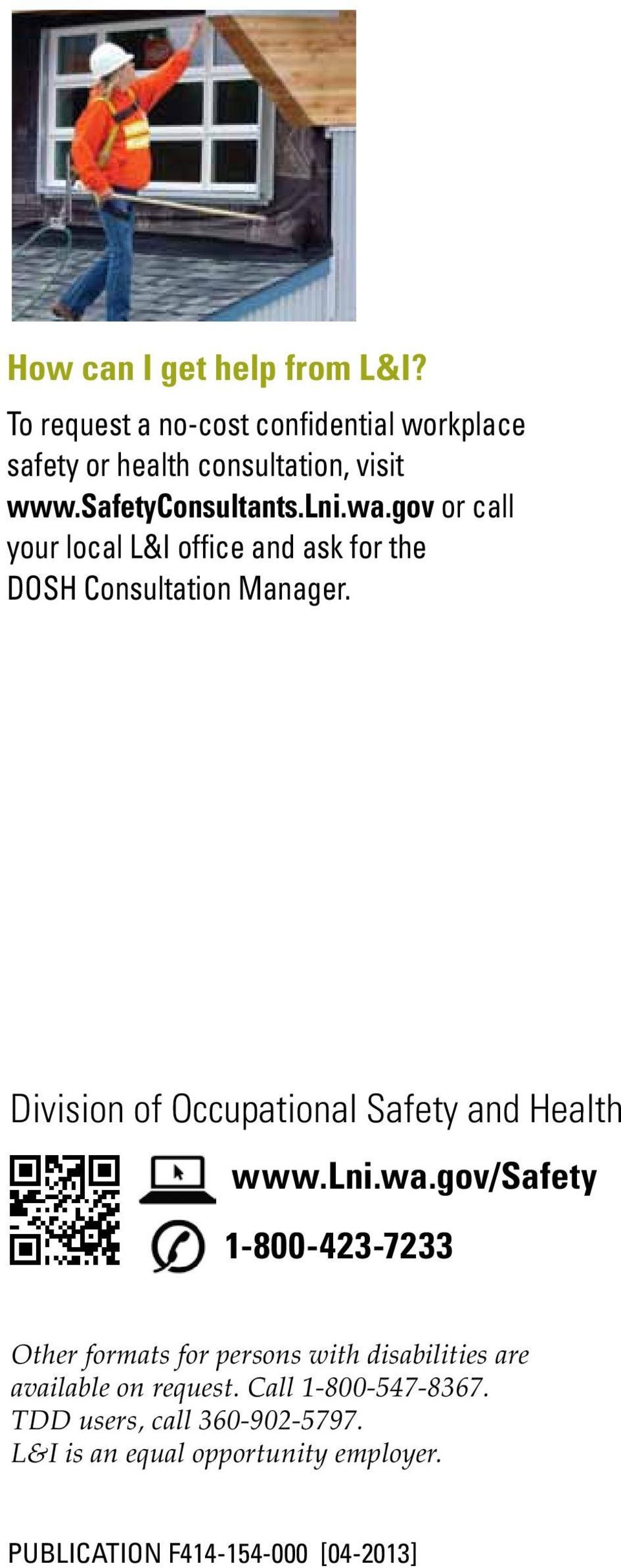Division of Occupational Safety and Health www.lni.wa.