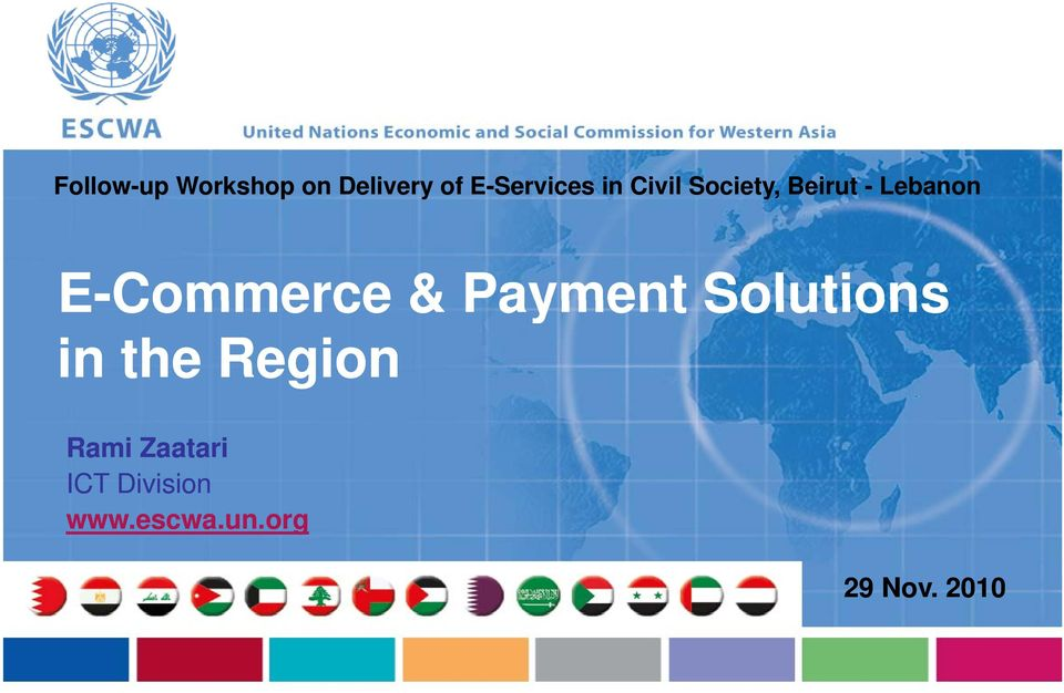 E-Commerce & Payment Solutions in the Region