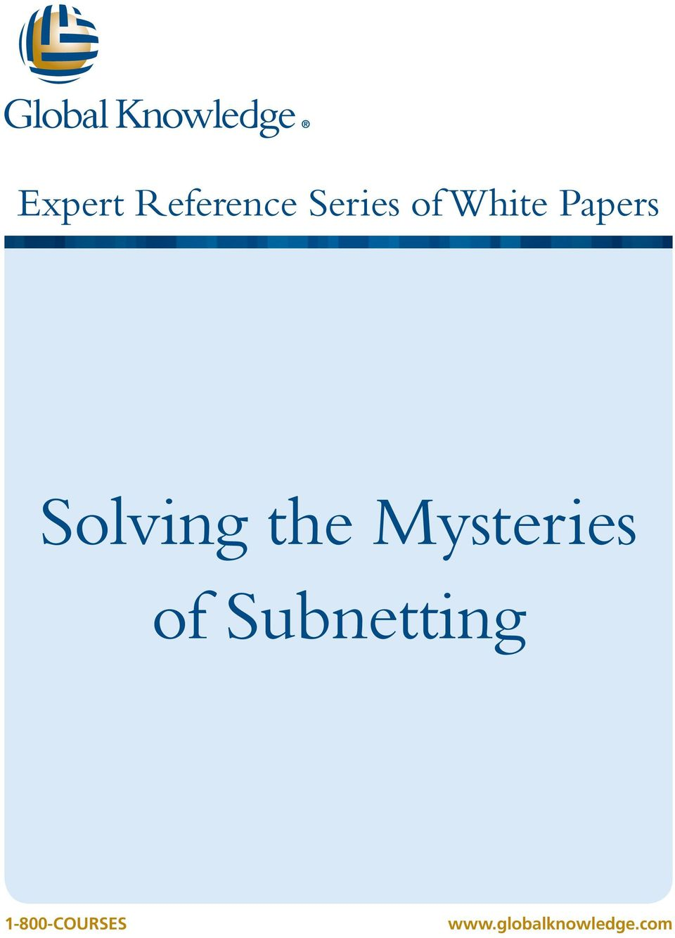 Mysteries of Subnetting