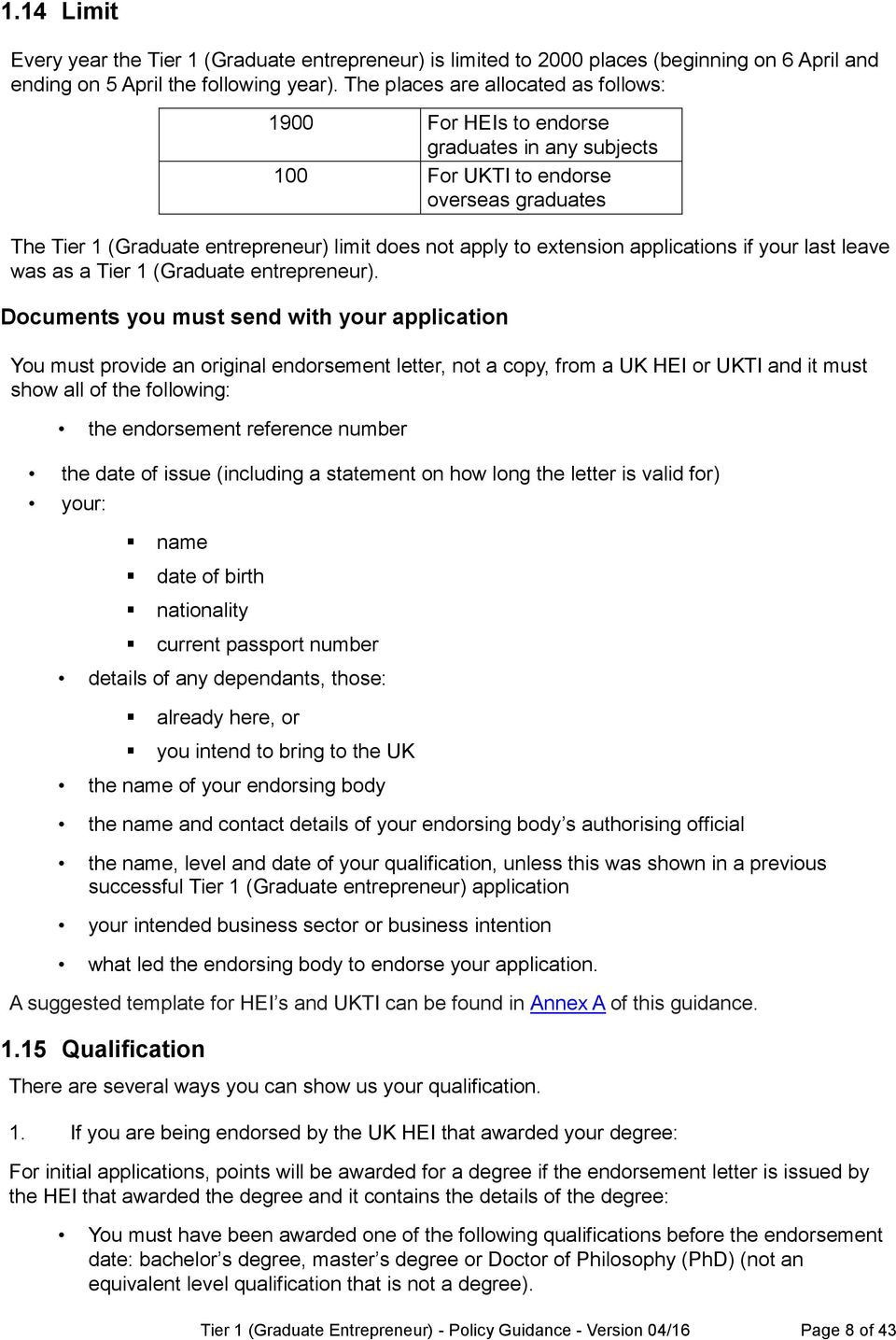applications if your last leave was as a Tier 1 (Graduate entrepreneur).