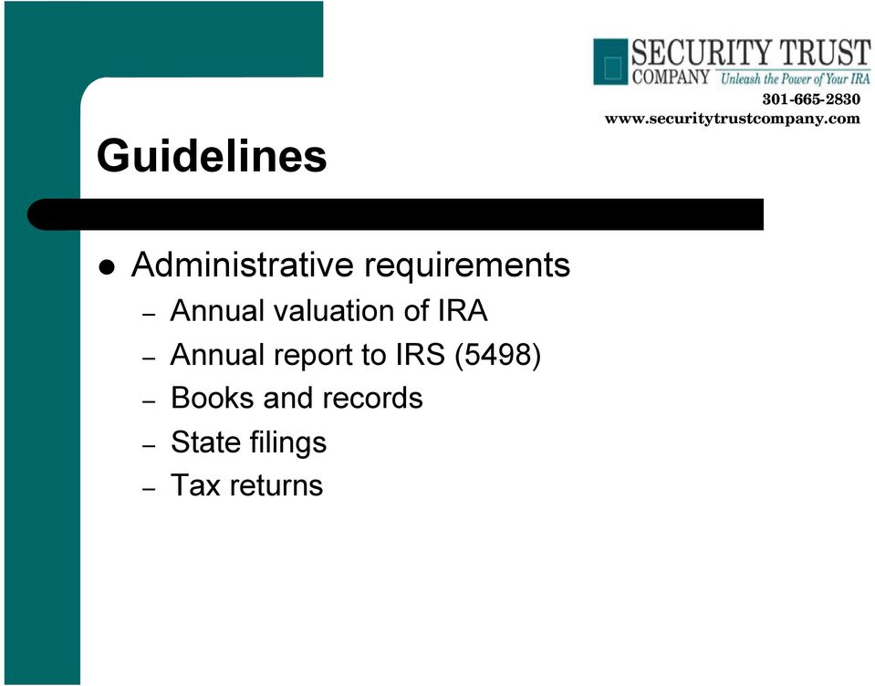 IRA Annual report to IRS (5498)