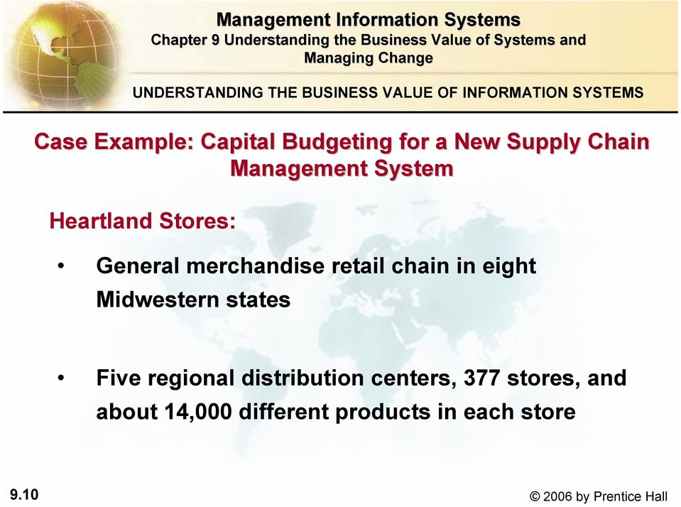 merchandise retail chain in eight Midwestern states Five regional distribution