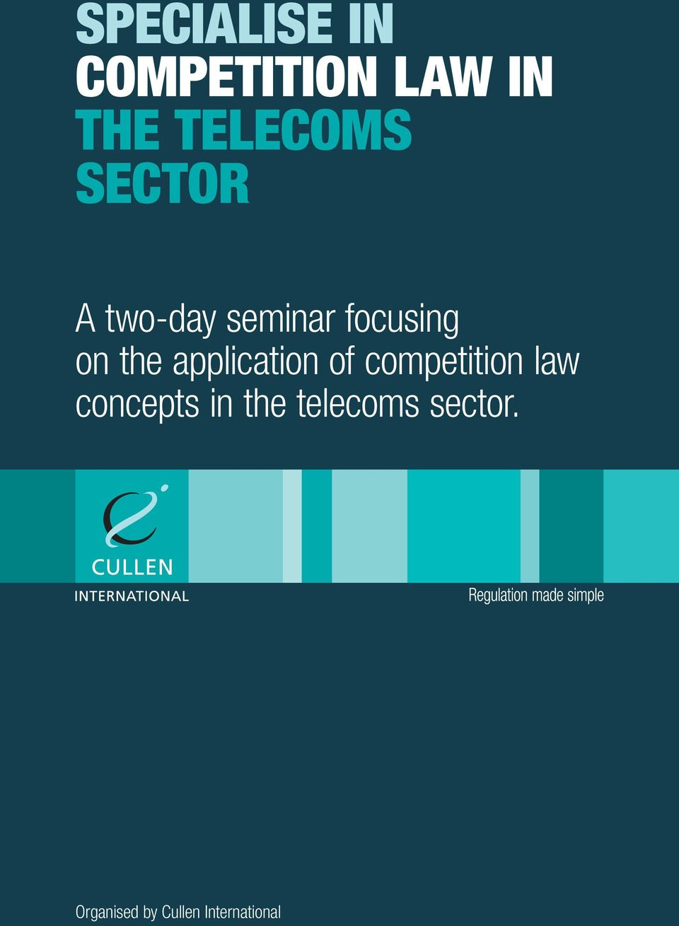 application of competition law concepts in