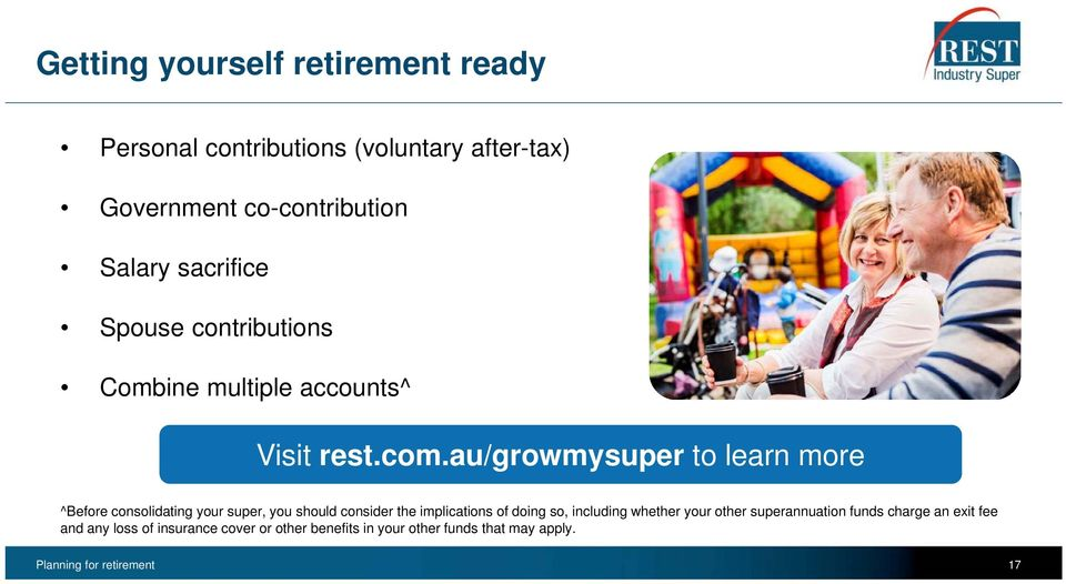 au/growmysuper to learn more ^Before consolidating your super, you should consider the implications of doing so,